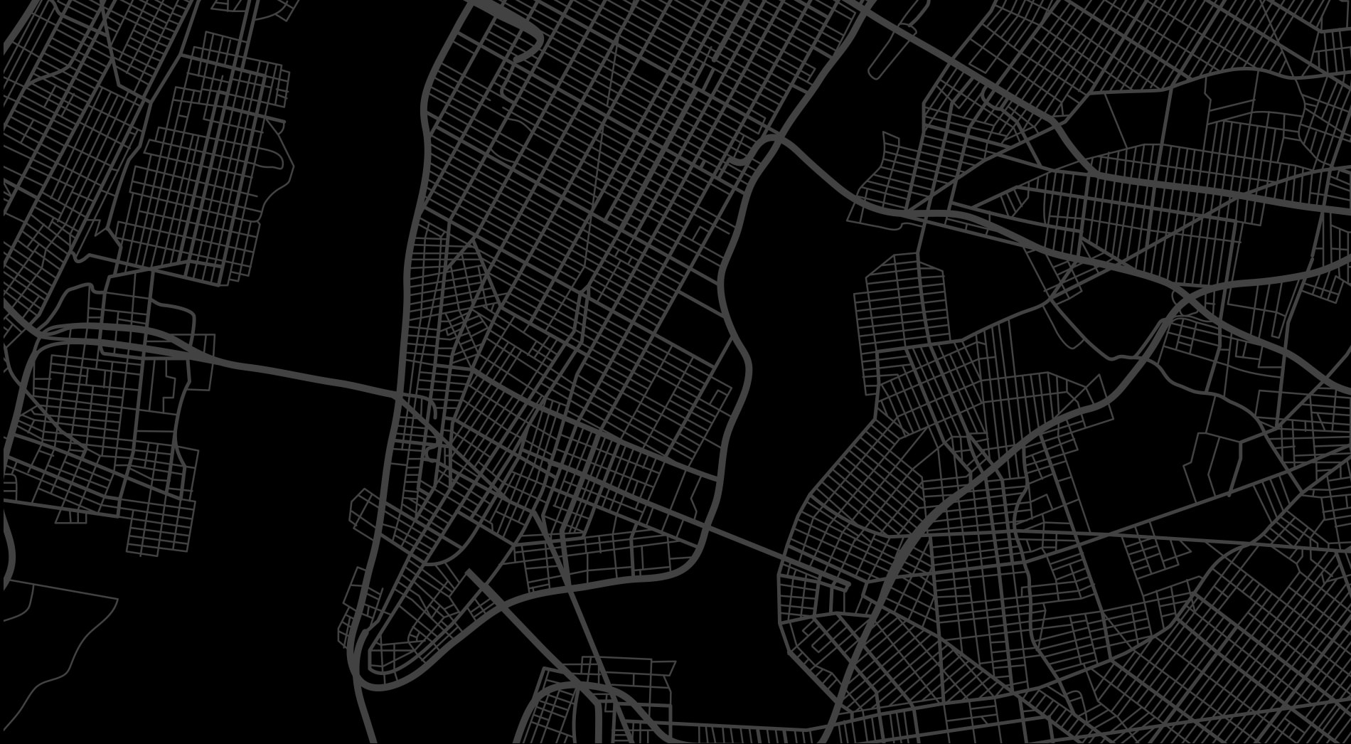 overlay image of a map of new york